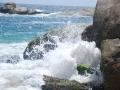 waves at kovalam beach