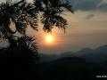 sunset at munnar